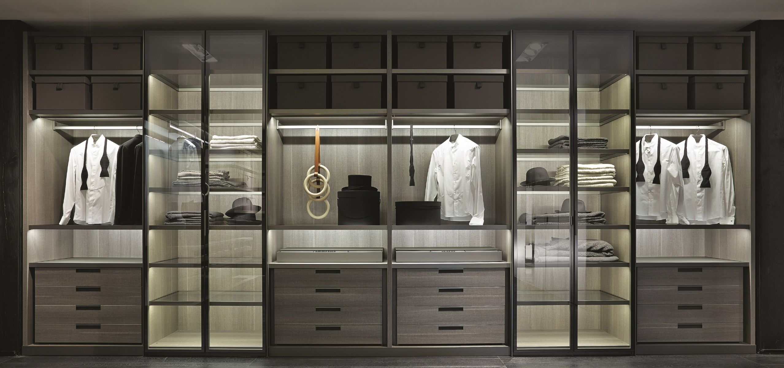 Poliform|Varenna _ Senzafine Walk In Closet