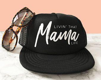 c8b5340784c63 READY TO SHIP! Livin  That Mama Life Hat