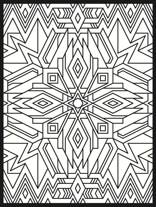 Deco Tech Stained Glass Coloring Book דגמי אלתר Geometric Patter Geometric Coloring Pages Pattern Coloring Pages Coloring Pages