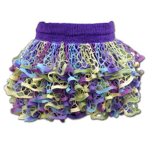 We Like Knitting Starbella Ruffle Skirt Free Pattern Knitting