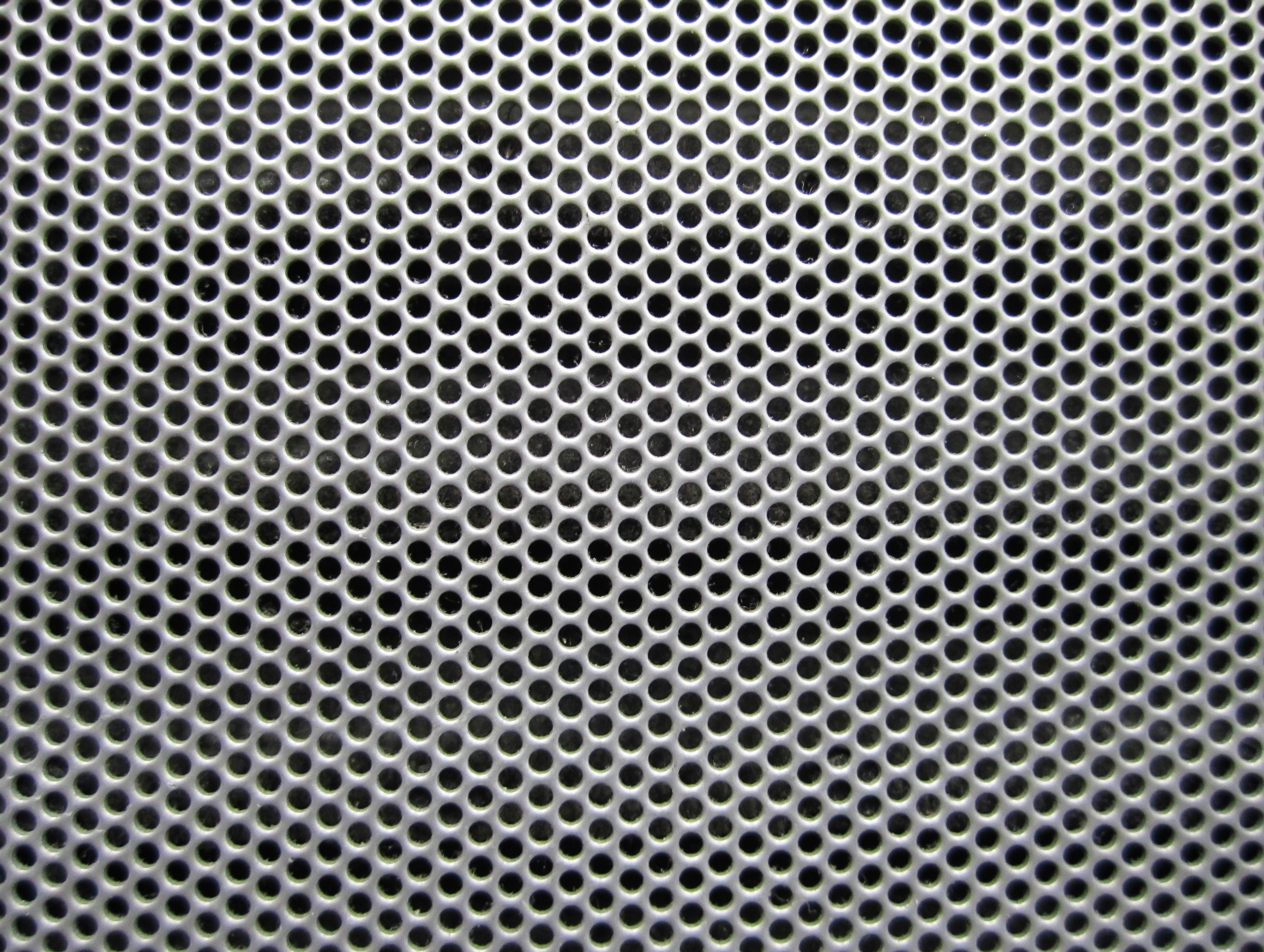 Metal Texture Hole Dusty Stock Photo Wallpaper Grey Jpg