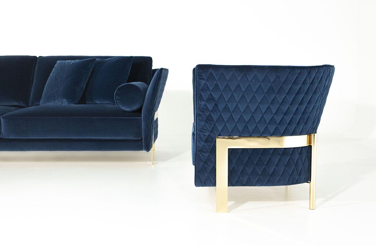 Divano Dal Design Moderno Cosmo By Opera Contemporary Contemporary Sofa Gold Living Room Sofa Design