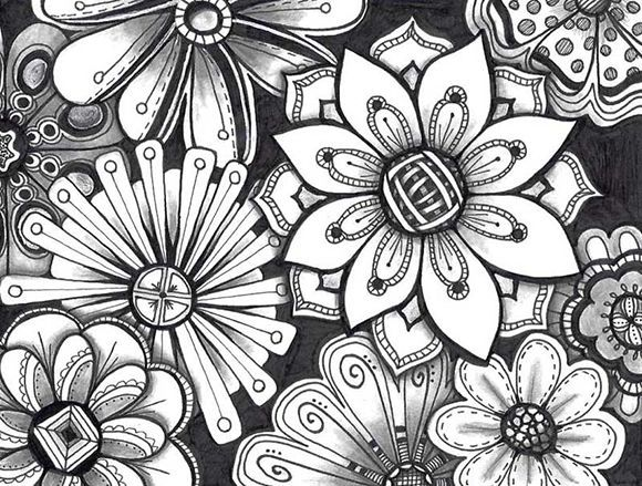 Easy Doodle Art Designs : Image result for easy zentangle patterns