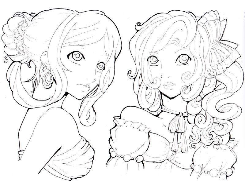 Anime & Manga Coloring. Artwork by Namtia on deviantart.com   Anime ...