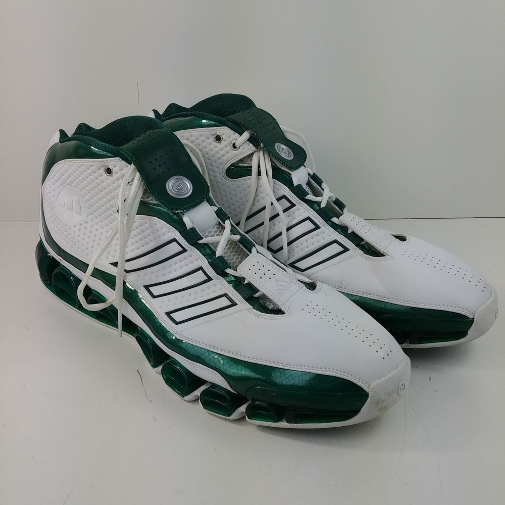 Adidas Superstar Seattle Super Sonics Basketball Shoes Mens Size 20 Green White