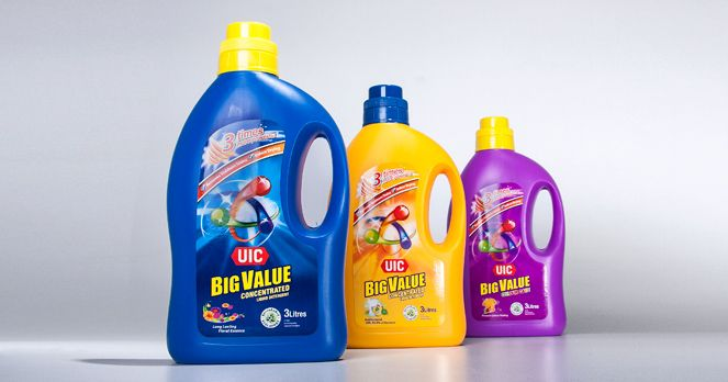 Uic Big Value Liquid Detergent Packaging Design Packaging Design