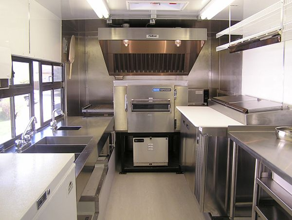 Food Truck Interior   Google Search