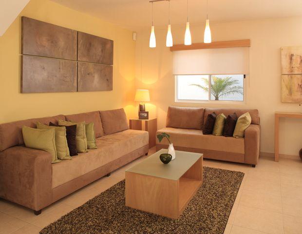Decoraci n minimalista y contempor nea elegante y for Sillones para apartamentos pequenos