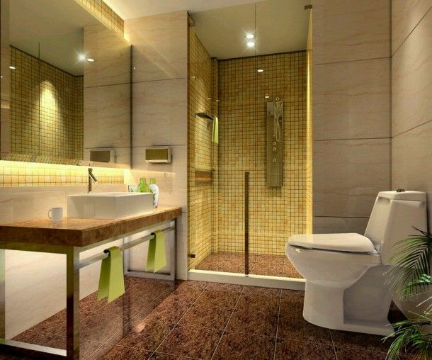 Inspiring Modern Bathroom Lighting Ideas Best Modern Bathroom ...