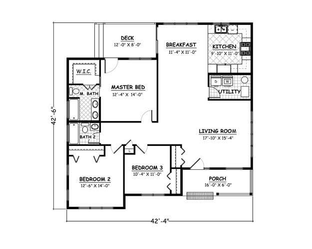 Ranch House Plan 721065 Ultimate Home Plans Diy House Plans Floor Plans House Plans