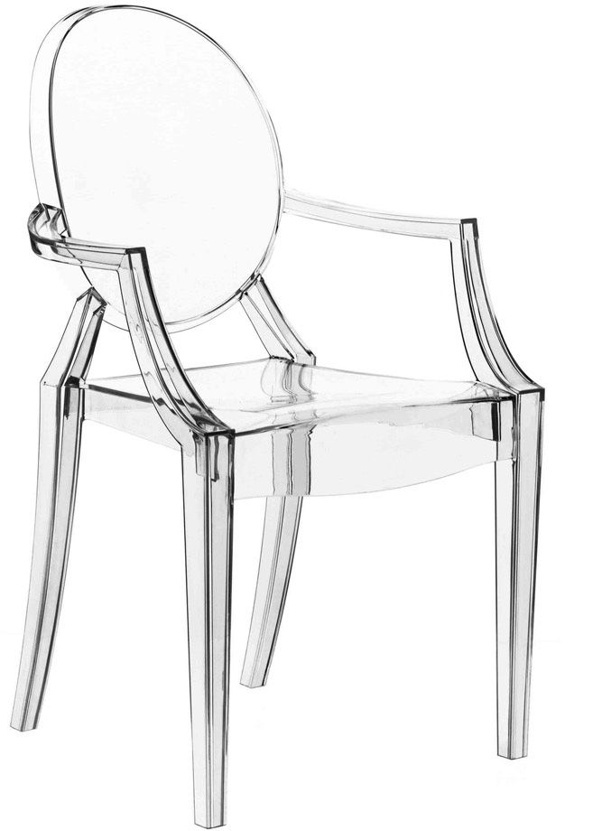 Louis Ghost for Kartell. Who other than Philippe Starck could set ...