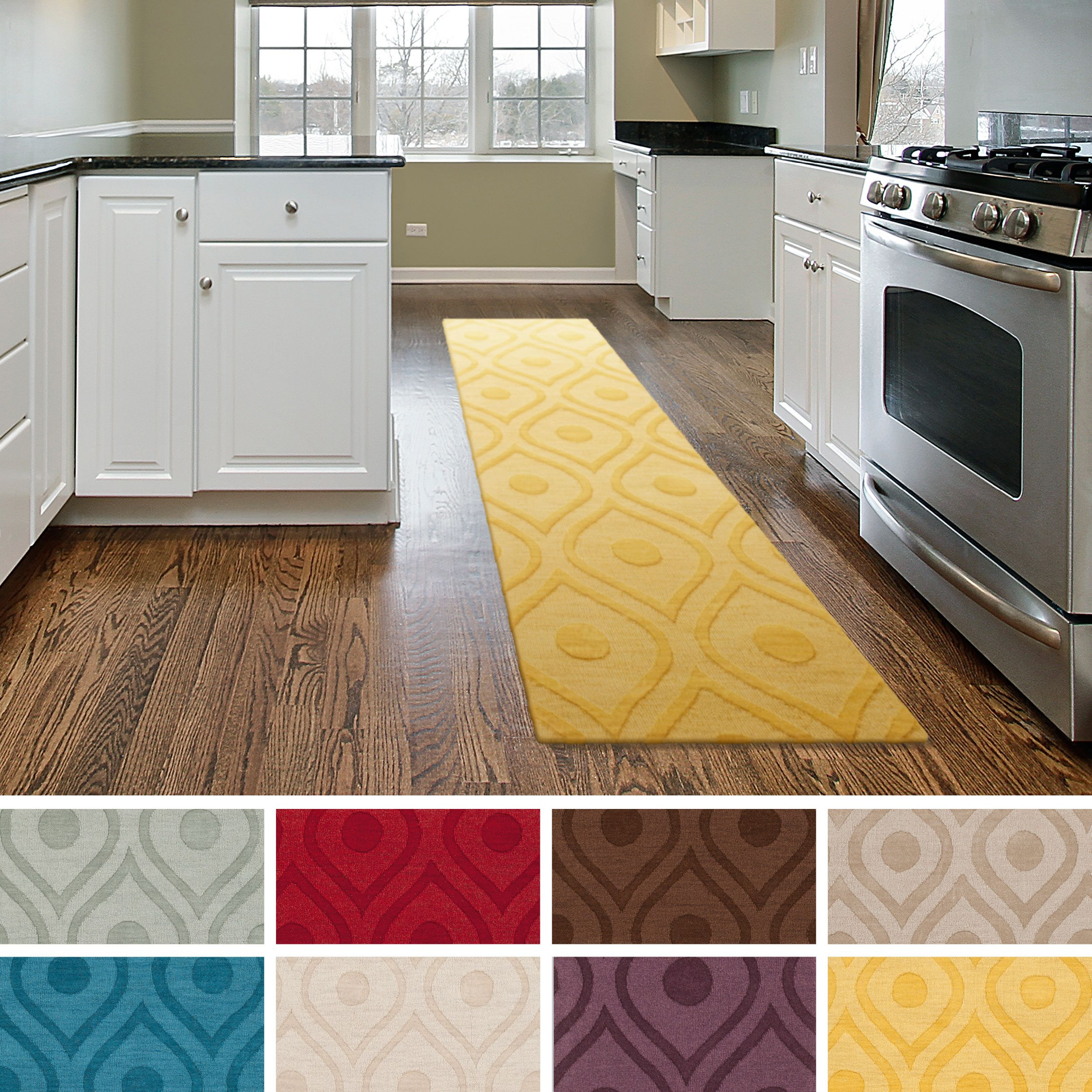 kitchen runners rugs washable - zitzat