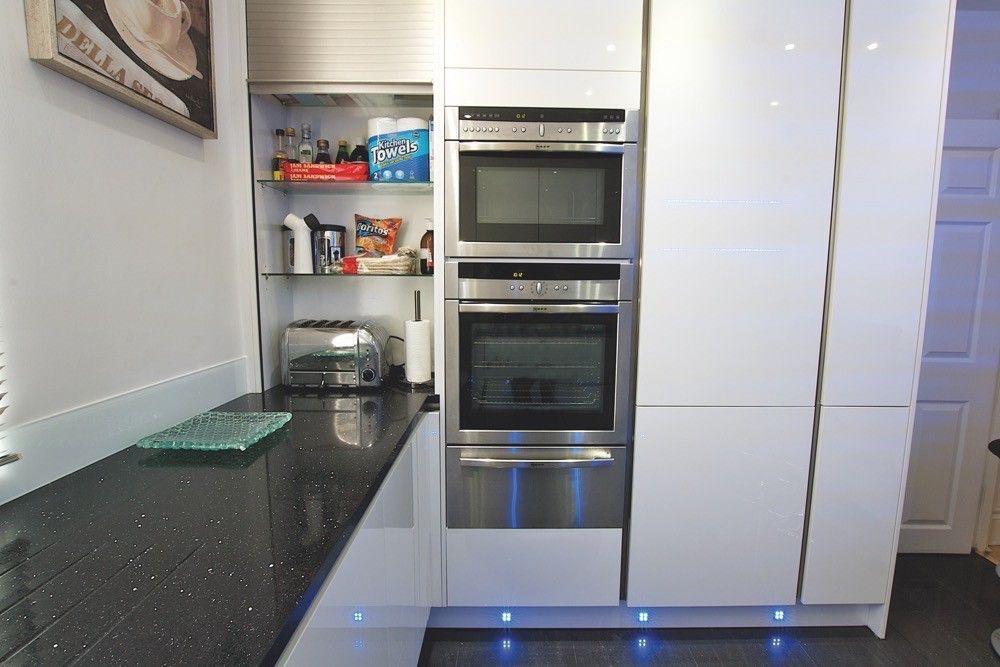 tall small corner unit in kitchen Google Search