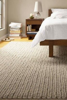 Another Beautiful Cable Knit Rug!
