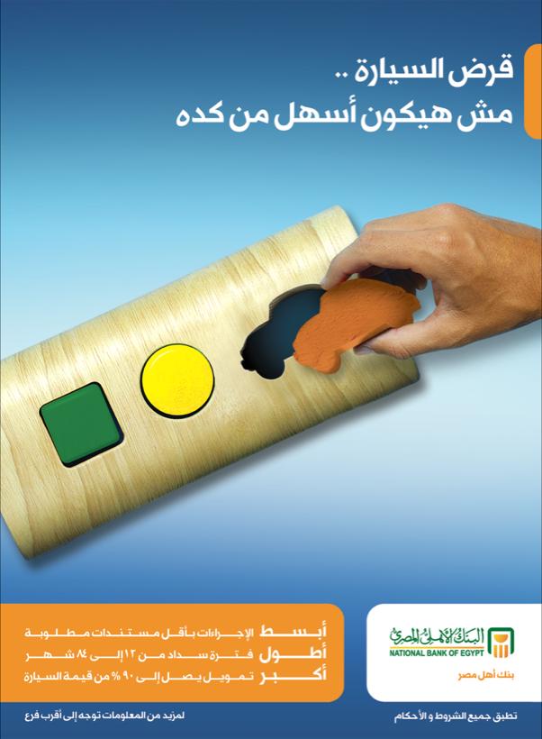 Car Loan National Bank Of Egypt National Car Loans Egypt
