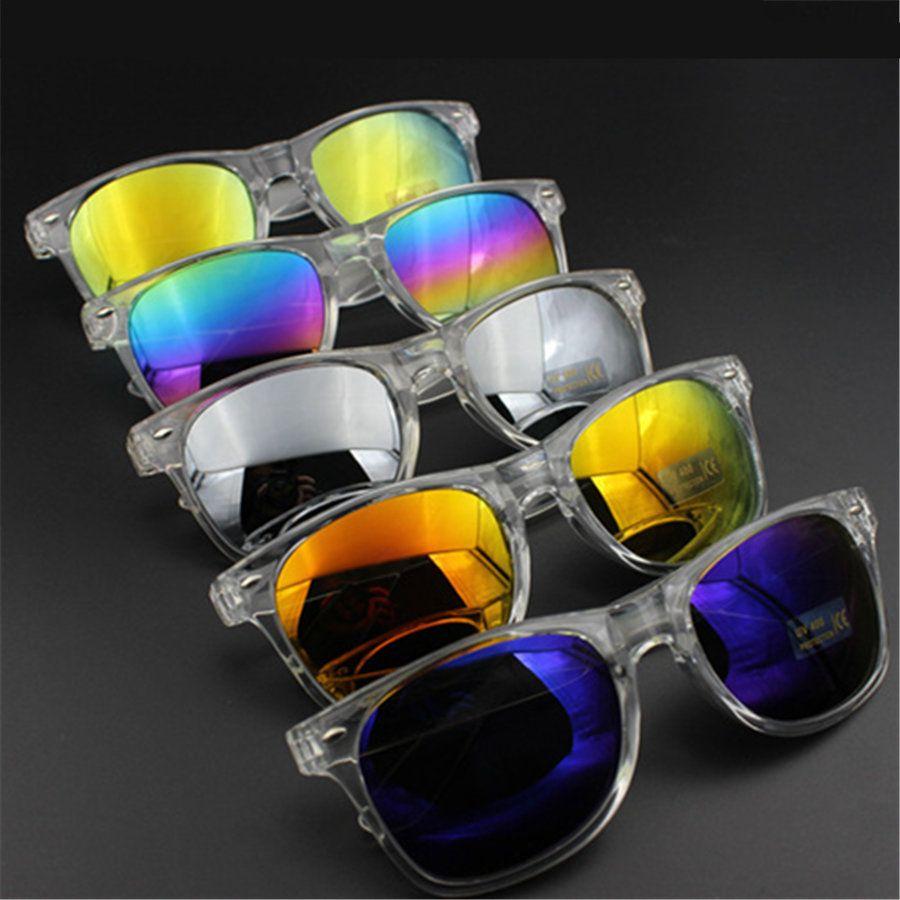 Transparente caliente para mujer marco gafas de sol Vintage Cat Eye femenino gafas de sol para mujer diseñador de la marca mujeres de gafas