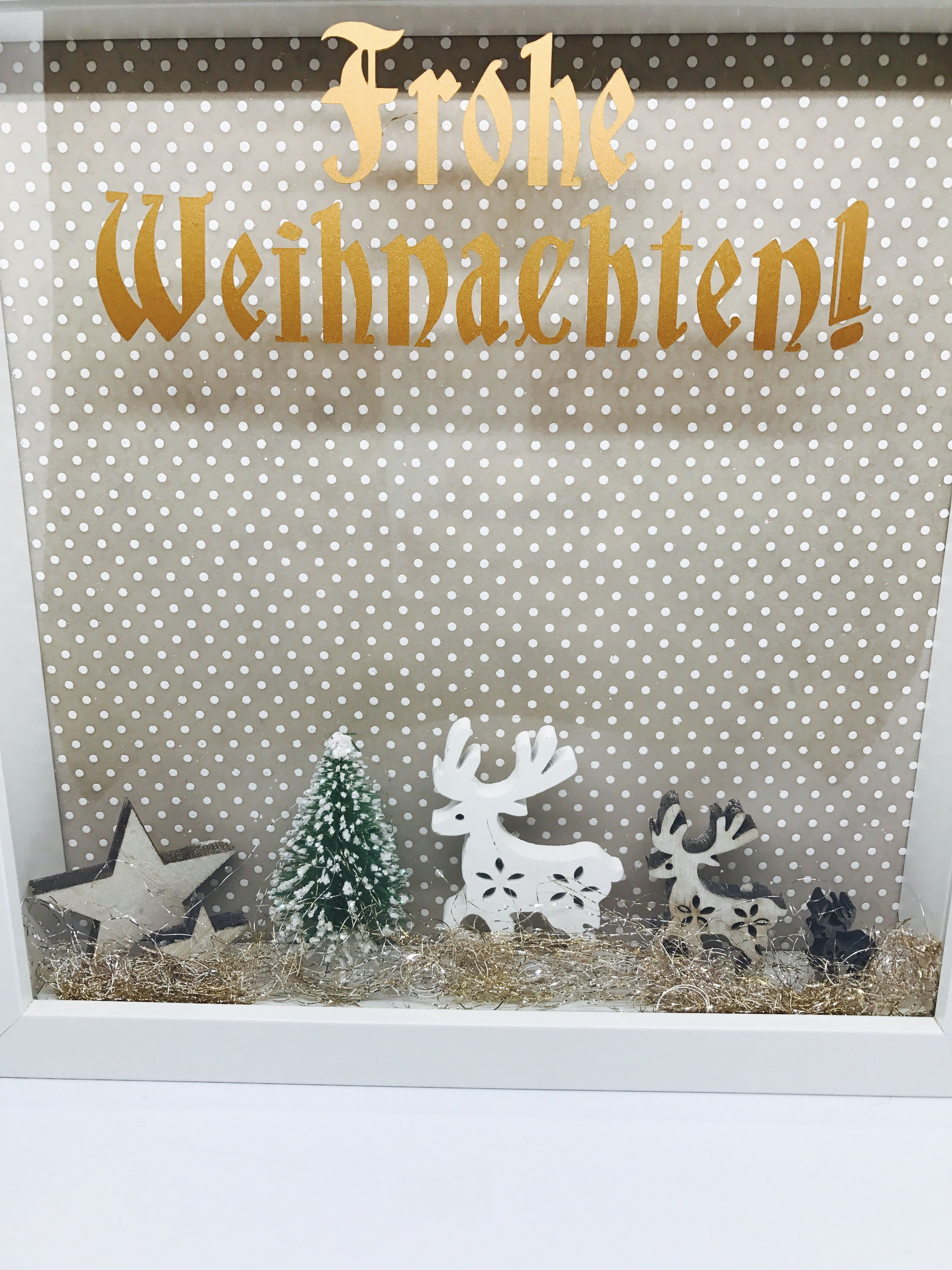 Ribba Bilderrahmen Deko Weihnachten   Ribba Deluxe   Pinterest ...