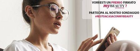 Rispondi al sondaggio e ricevi l'esclusiva Borraccia MyBeauty
