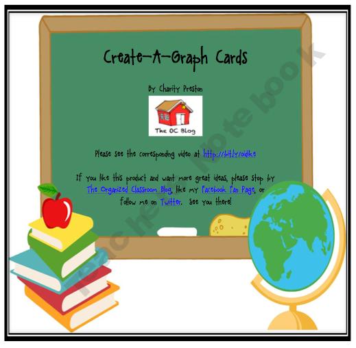 Create-A-Graph Math Cards