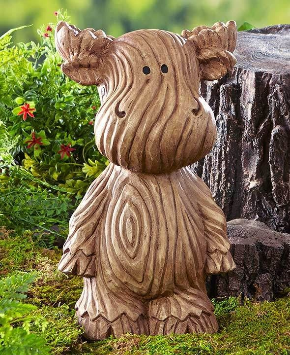 Explore Wood Grain Texture, Garden Statues, And More!