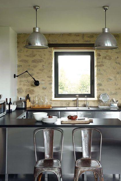 Rénovation maison ancienne, longère, ferme...   splendorous cuisine ...