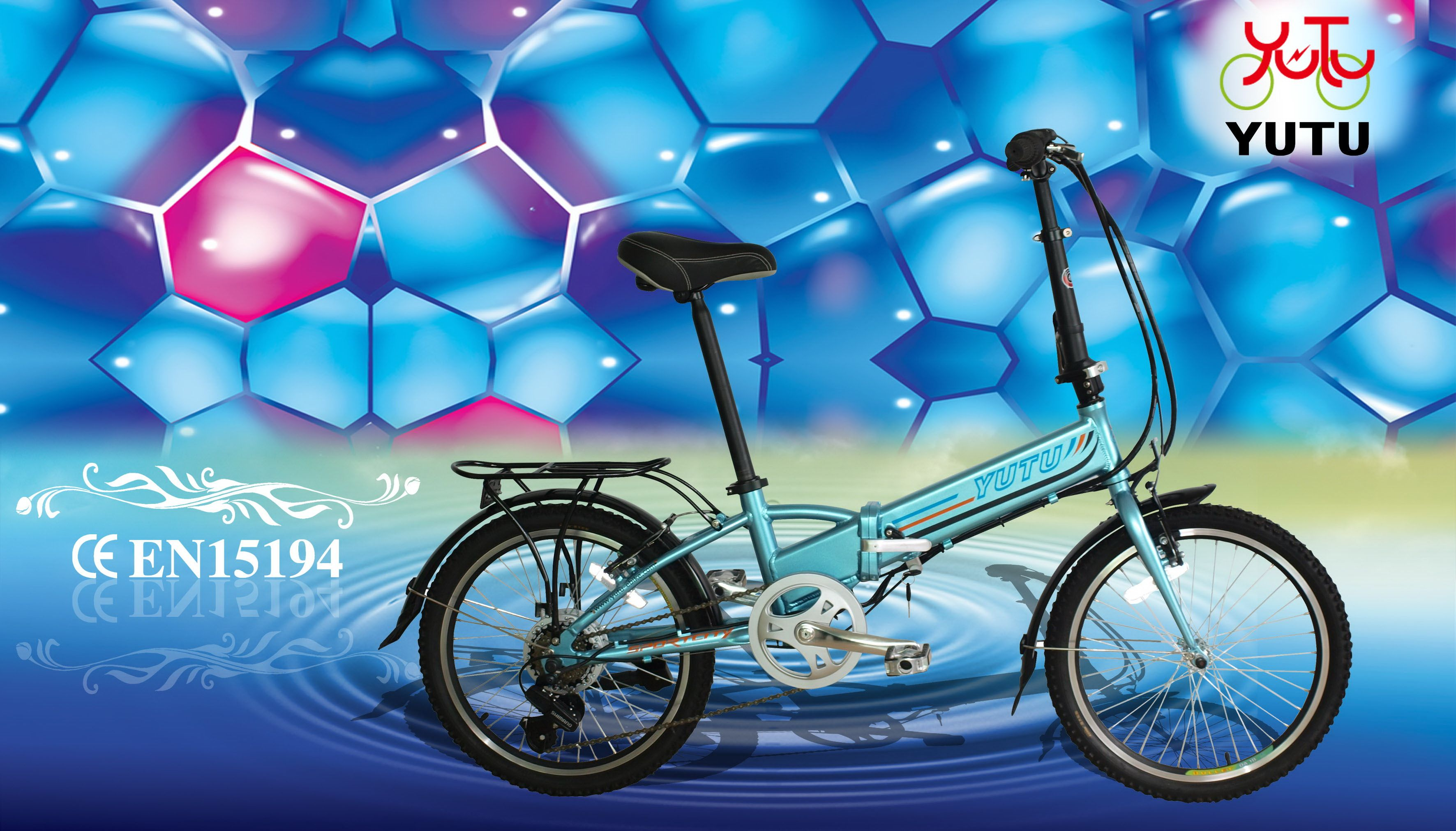 Our 20inch Folding Electric Bike 250w 8fun Motor Aluminium Alloy
