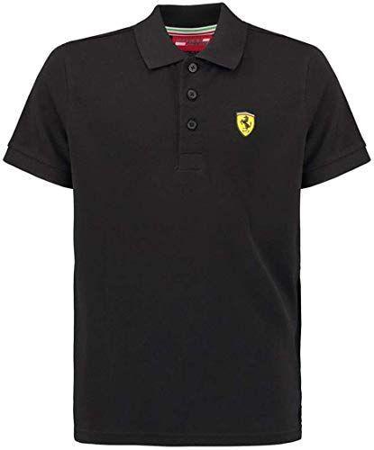 New Ferrari Black Classic Shield Polo Shirt online #newferrari New Ferrari Black Classic Shield Polo Shirt. Fashion Men Shirts [$61.29]amazingtopideas #newferrari