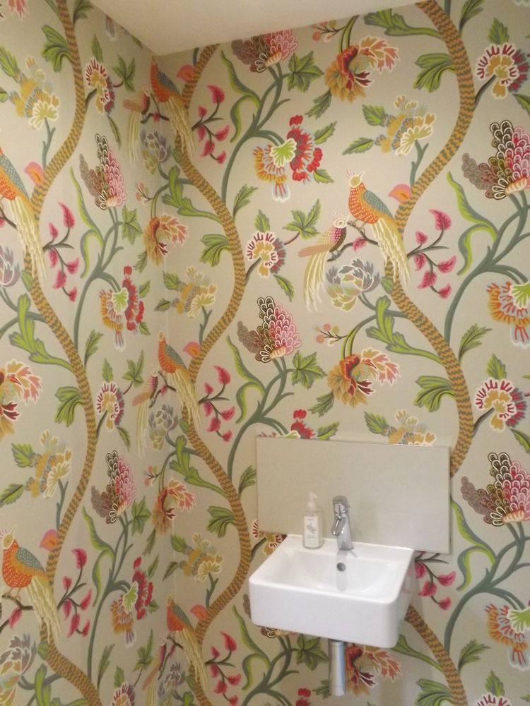 wallpapering — The Cambridge Decorator. (With images ...