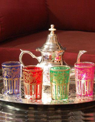Marokkanische teeparty