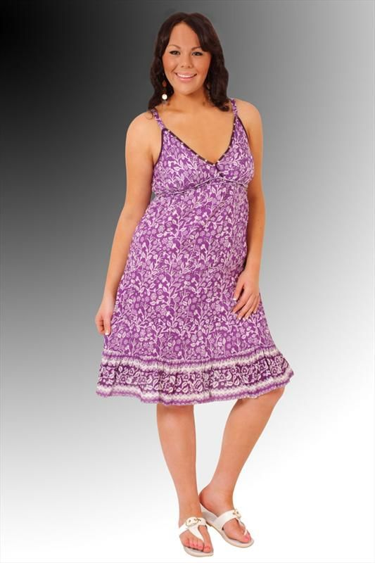 piniful.com plus size sundresses (34) #curvyplus | Plus Size ...