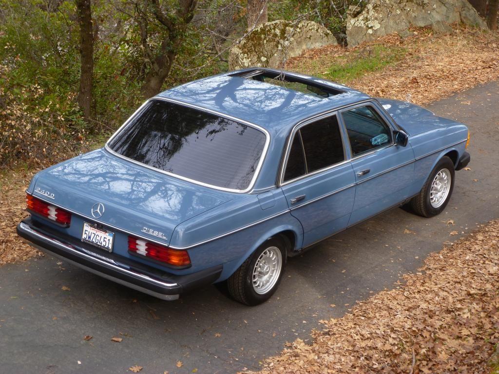 Mercedes California Diesel Sedan Mercedes Classic Cars