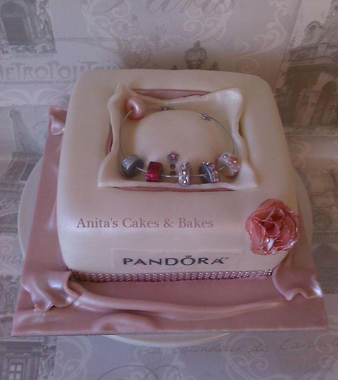 What Girl Dont Want A Pandora Bracelet Birthday Cakes Pandora