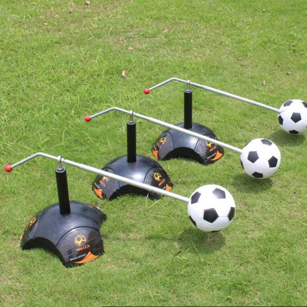 Top Quality Football Trainer Equipment Kick Ball Soccer Ground Pass Cross Pass Excessive Dribbling Training Equip Free Shipping Footballonthego Football Trainer Kicks Football Training