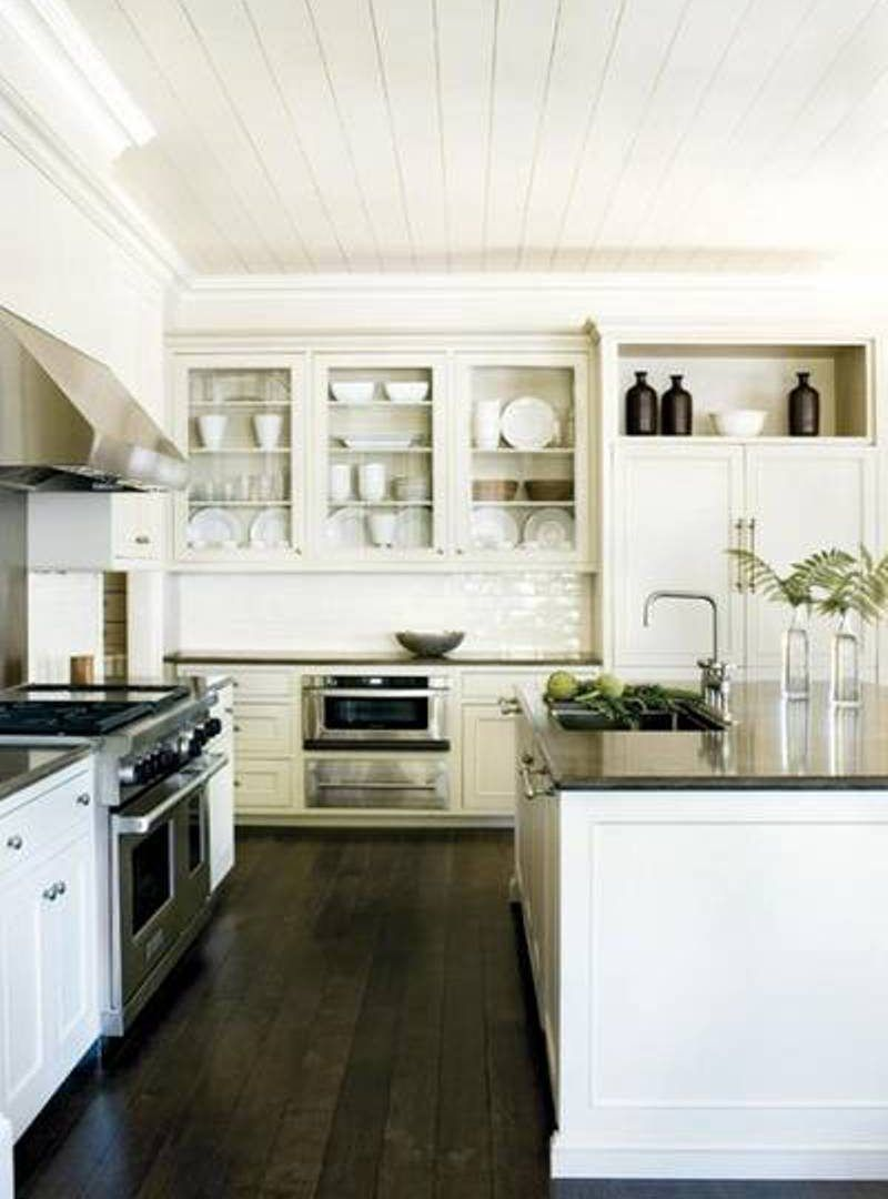 Kitchen Dark Wood Kitchen Light Brown Kitchen Cabinets Painted Cabinet Ideas Contemporary White Ki Hardwood Floors Dark Wood Floor Design Rustic Kitchen Design