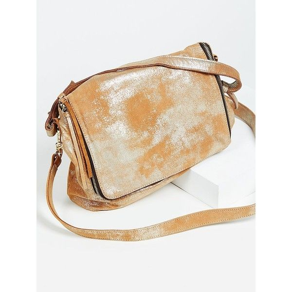 Arielle Foiled Messenger ($528) ❤ liked on Polyvore featuring bags, messenger bags, free people bags, courier bag, fold-over crossbody bags, fold over messenger bag and foldover messenger bag
