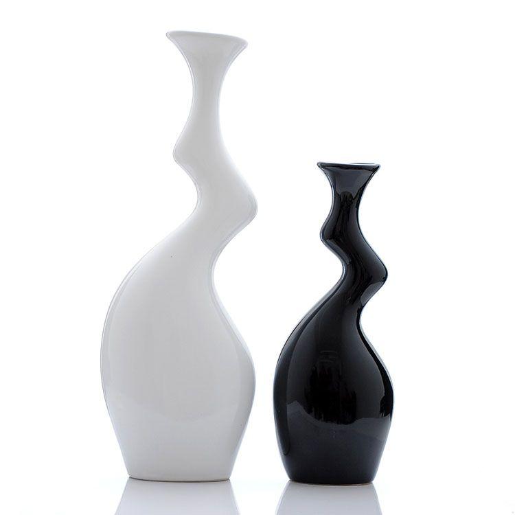 50 vasi moderni per interni dal design particolare 1 vasi moderno e scultura - Vasi per interni design ...