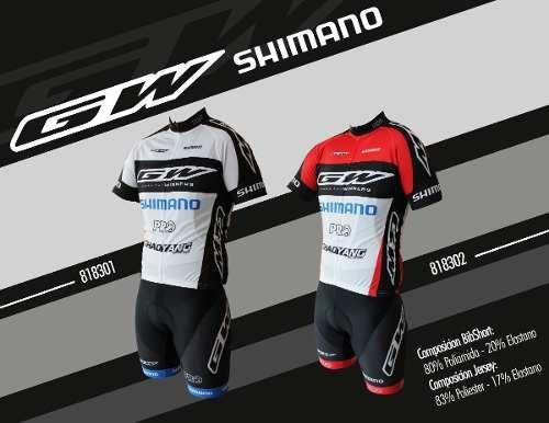 Uniformes De Ciclismo Gw-shimano  7d11d4ce435da