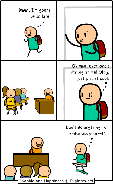 Explosm Net With Images Funny Comic Strips Cyanide And
