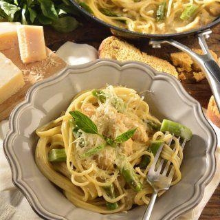 Spaghetti con Pollo al Limón