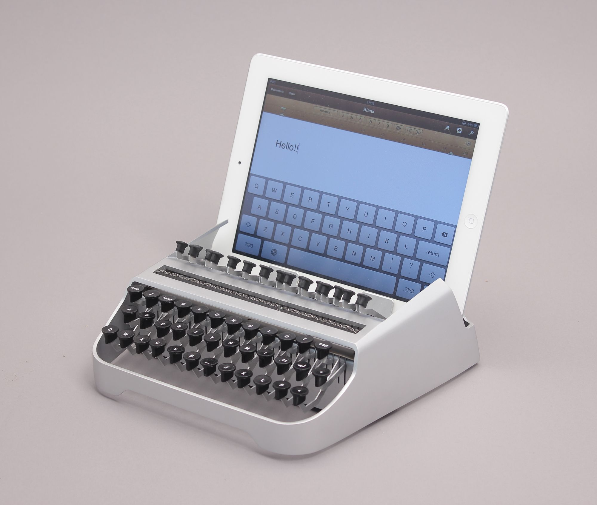 iTypewriter: Yes, It's An iPad Typewriter | Co.Design: business + innovation + design