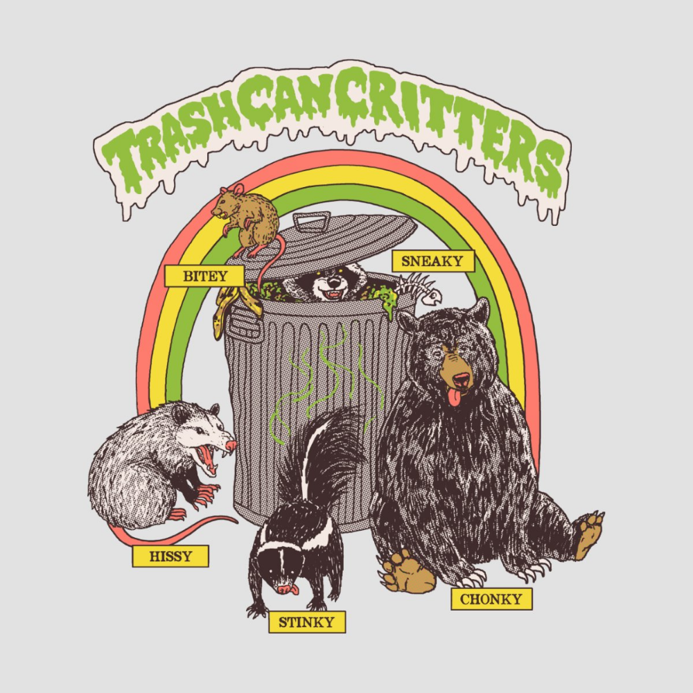 Trash Can Critters | Hillary White