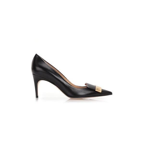 Godiva stiletto pumps - Black Sergio Rossi sUKSrN