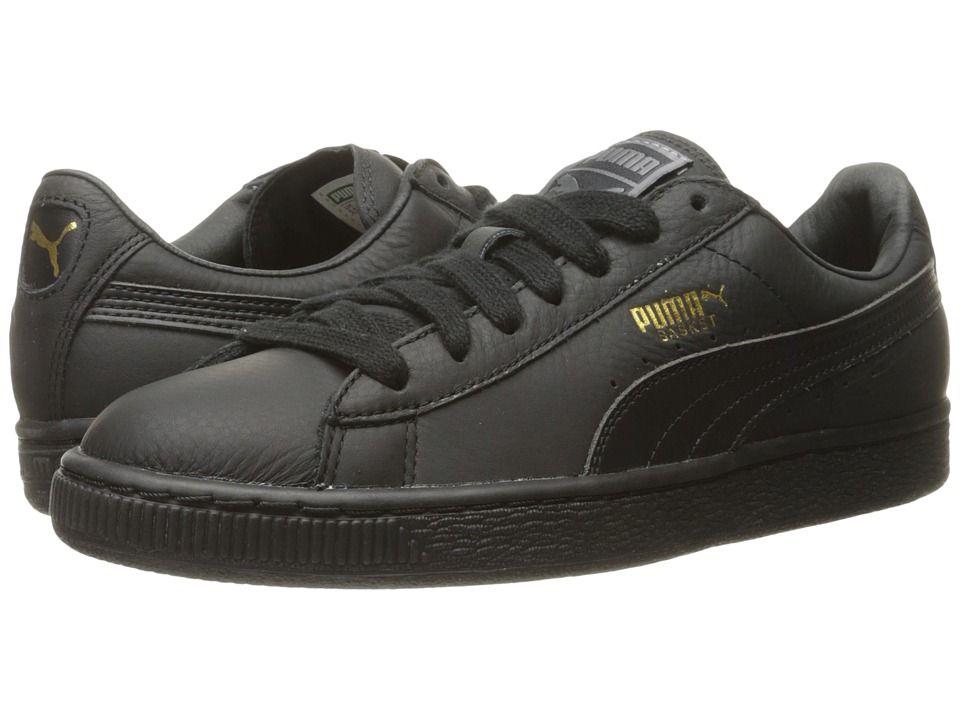PUMA Basket Classic All Black Shoes