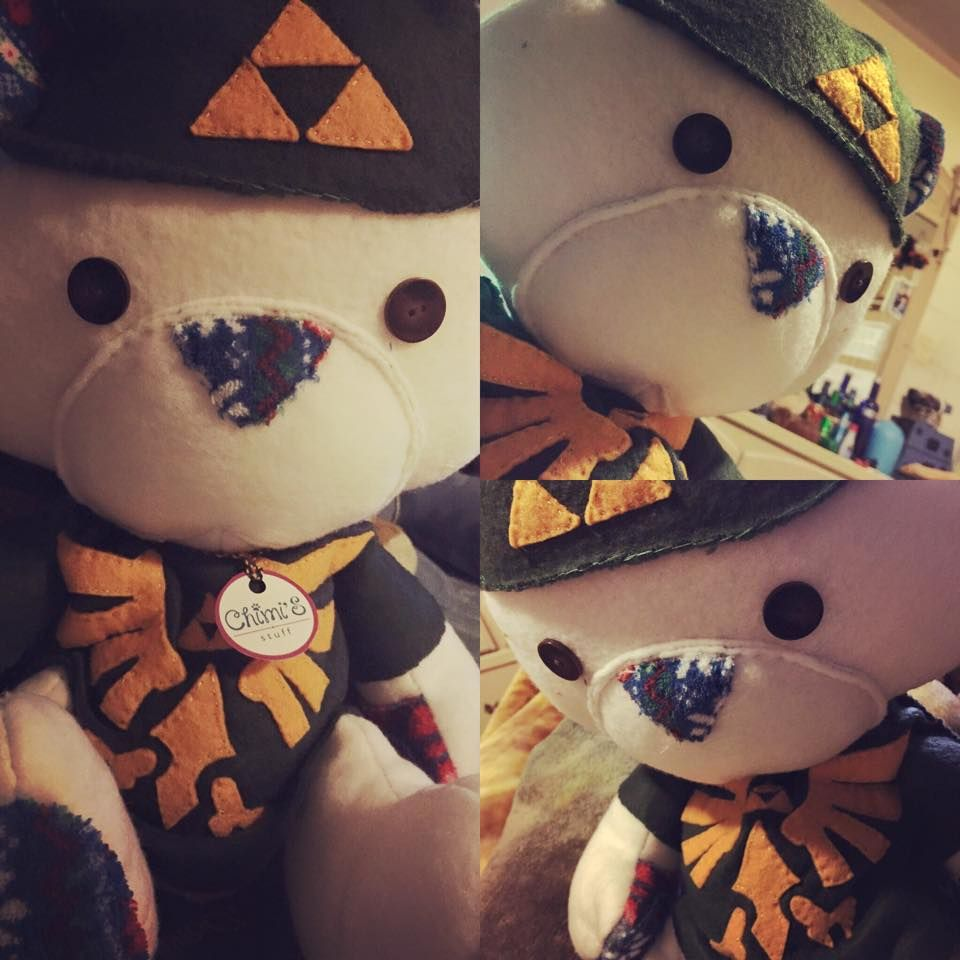 Zelda bear plushies commisions pinterest plushies and bears