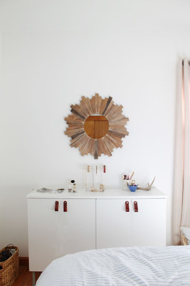 DIY Leather Pulls | Hometalk: Summer Inspiration | Pinterest | Ikea ...