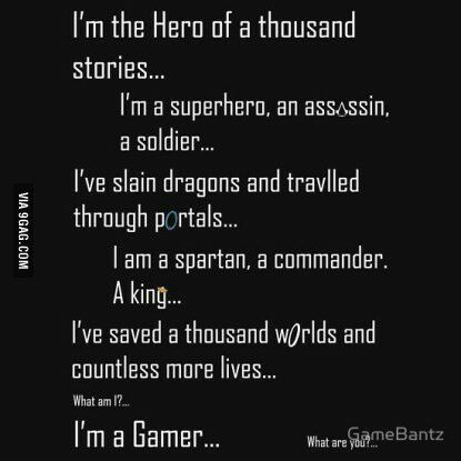 True Gamer Gamer Quotes Video Game Quotes Game Quotes