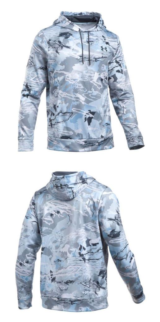 Hoodies and Sweatshirts 177871: Under Armour Ua Icon Armourfleece® Storm Ridge Reaper® Hydro Camo Hoodie -> BUY IT NOW ONLY: $59.99 on eBay!