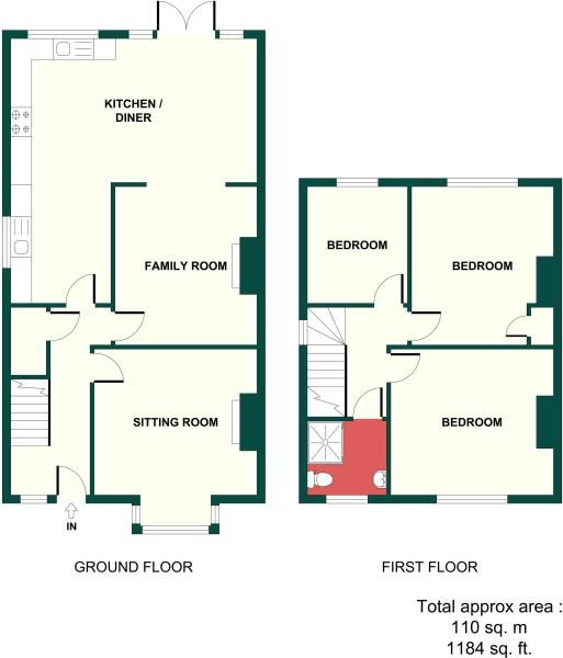 Pin By Elizabeth Smith Beauty Norwi On 1930 S Uk Semi Detached House House Extension Plans 1930s House Extension Floor Plans