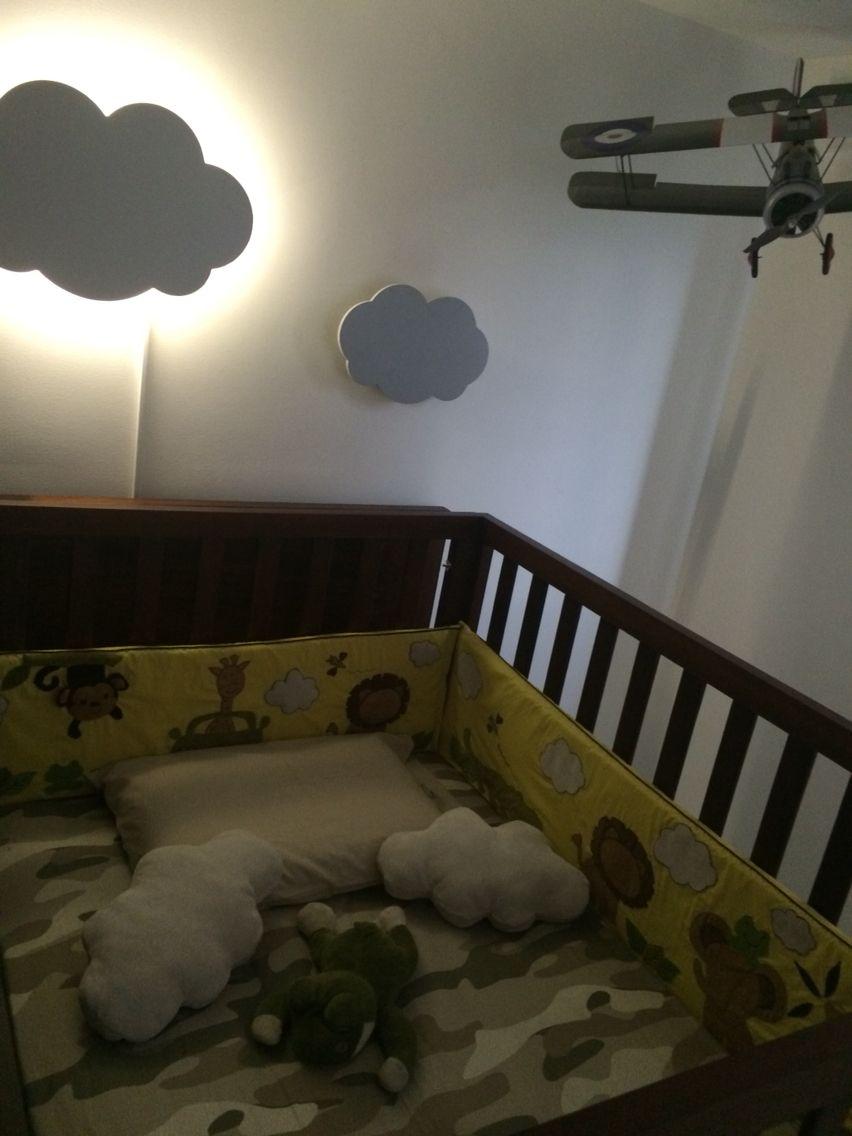 Habitaci n ni o decoraci n habitaci n beb nube nube for Decoracion para bebe varon