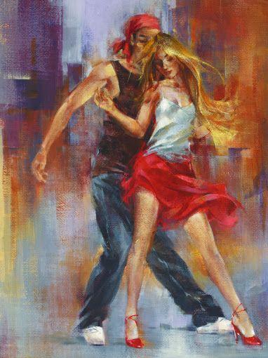 Pedro Álvarez Castelló ~ gli artisti del Tango ~ pittore cubano is part of Dance art, Dance paintings, Art, Art painting, Street dance, Contemporary oil paintings - S'insinua fra corpo e mente, seduce nell'anima e trasporta il flusso emozionale nella danza dei colori, nel movimento dei segni, nel ritmo